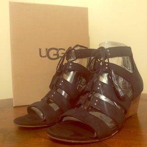 NEW UGG Yasmin Snake Sandal, SZ 7.5